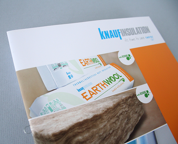 Knauf Product Guide Price List Brochure Design