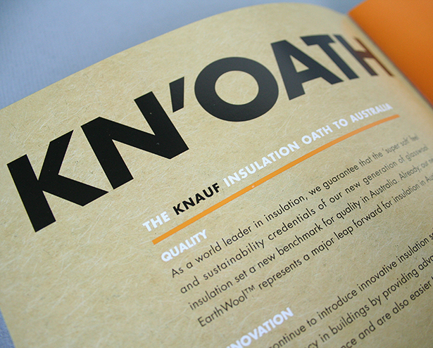 Knauf Insulation Print ad