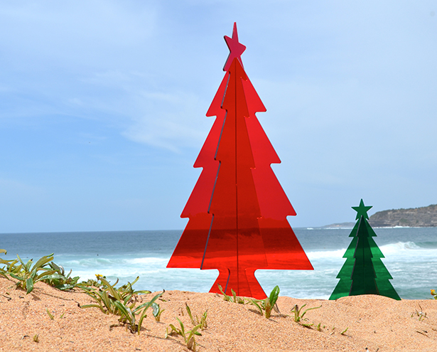 Photography - APF Perspex Christmas Trees