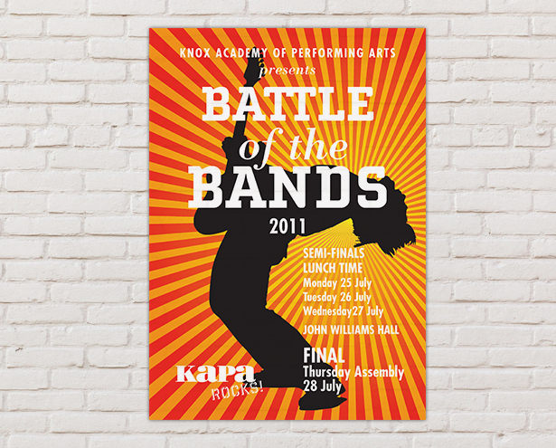 KAPA Battle of the Bands Poster