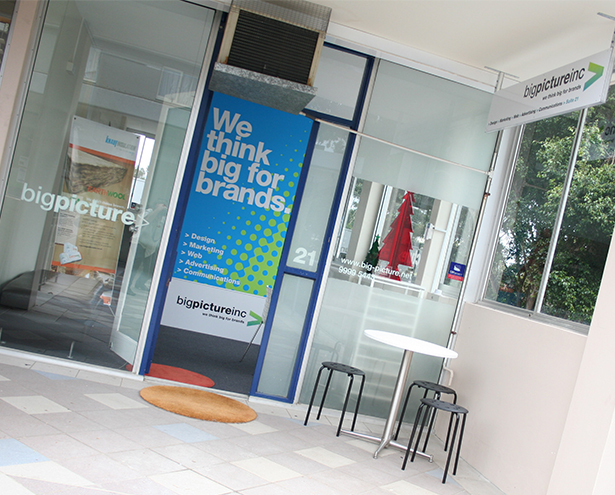 Big Picture Branding Office Mona Vale