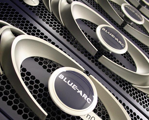 Omnilab Media Blue Arc Storage