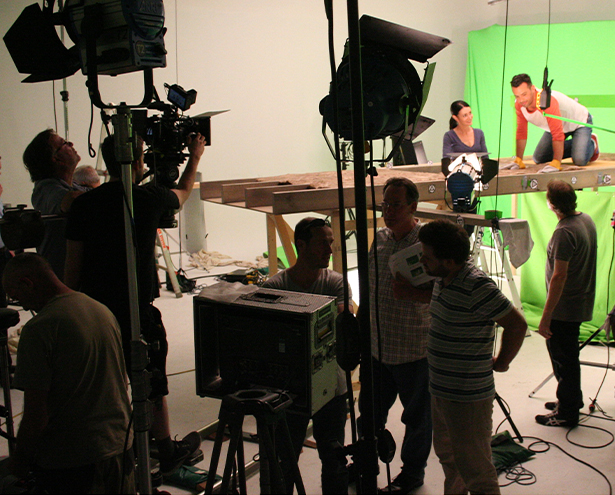 Knauf Insulation TV Commercial Shoot