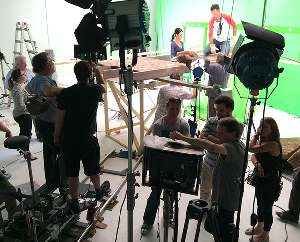 Knauf TVC - lights, camera, action!