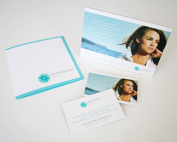 Pearl Beach Pearls Corporate Identity