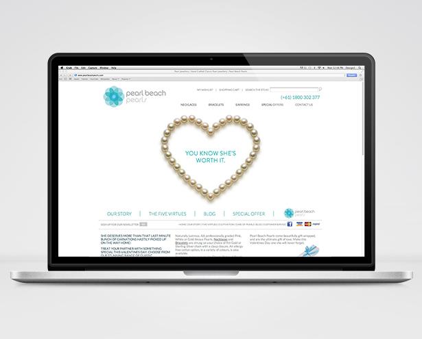 Pearls Beach Pearls Website