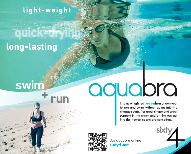 Sixty4 Aquabra Print Advertising