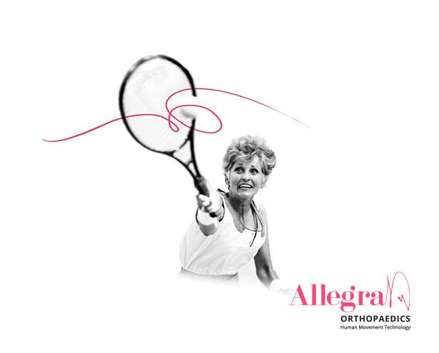 Allegra Brand Tennis Hero